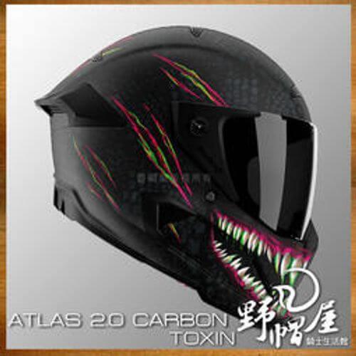 Ruroc全罩式安全帽ATLAS 2.0