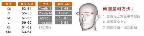 頭圍量測方法
