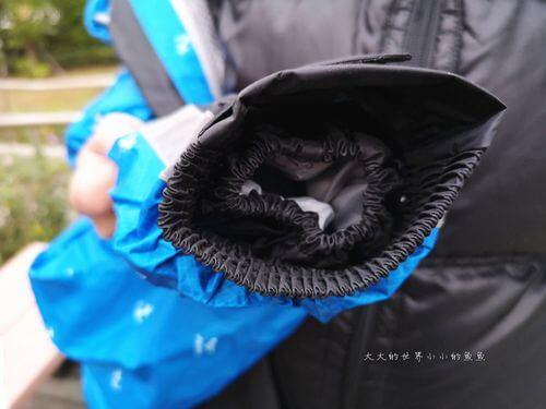 雨衣雙層袖口防護