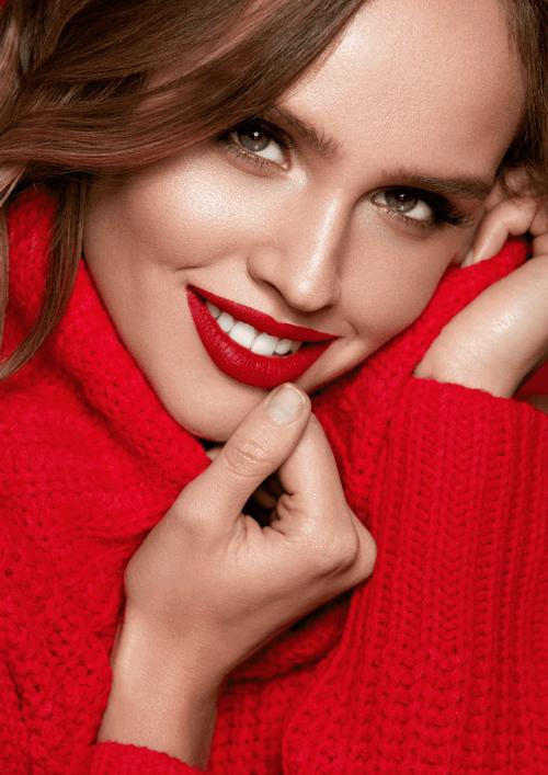 紅色女性衣服