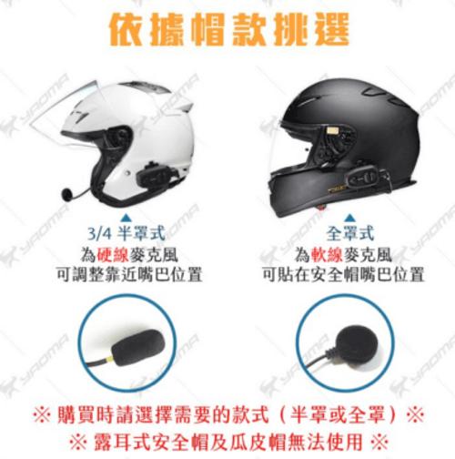 BK-S13/4級全罩適合裝的麥克風線組